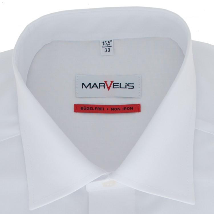 Marvelis Marvelis comfort fit Hemd New Kent weiß 797364