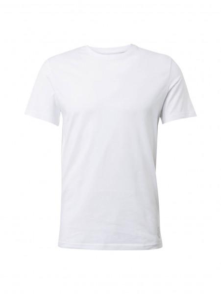 Tom Tailor T-Shirt weiss in klassischer Schnittform