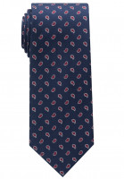 Eterna Krawatte dunkelblau gemustert