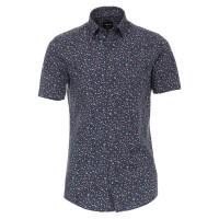 Venti Hemd MODERN FIT STRUKTUR hellblau mit Button Down Kragen in moderner Schnittform