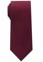Eterna Krawatte dunkelrot gestreift