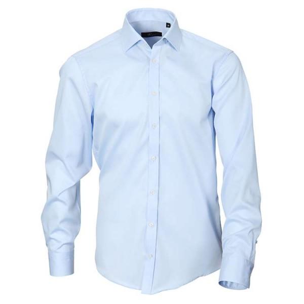 """Venti Hemd """"Twill"""" hellblau mit Kent Kragen in moderner Schnittform"""