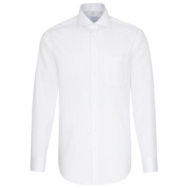 Seidensticker REGULAR Hemd TWILL weiss mit Spread Kent Kragen in moderner Schnittform