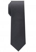 Eterna Krawatte schwarz strukturiert