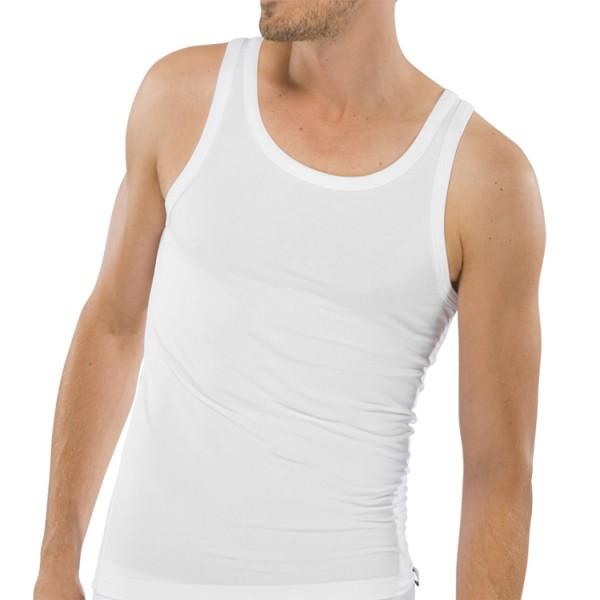 """Schiesser """"95/5"""" weißes Shirt"""