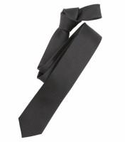 Venti Krawatte schwarz strukturiert