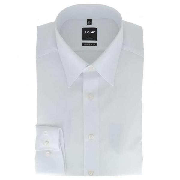 olymp luxor modern fit hemd wei 635064 00 mode spezialist. Black Bedroom Furniture Sets. Home Design Ideas