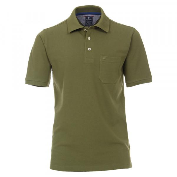Redmond Poloshirt dunkelgrün in klassischer Schnittform