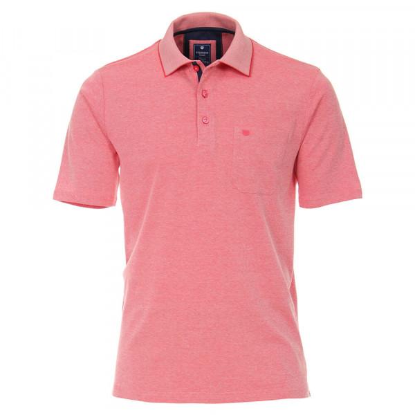 Redmond Poloshirt rosa in klassischer Schnittform