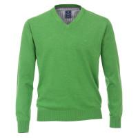 Redmond Pullover dunkelgrün in klassischer Schnittform