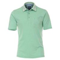 Redmond Poloshirt grün in klassischer Schnittform