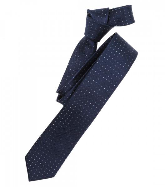 Venti Krawatte dunkelblau getupft