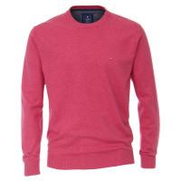 Redmond Pullover rosa in klassischer Schnittform