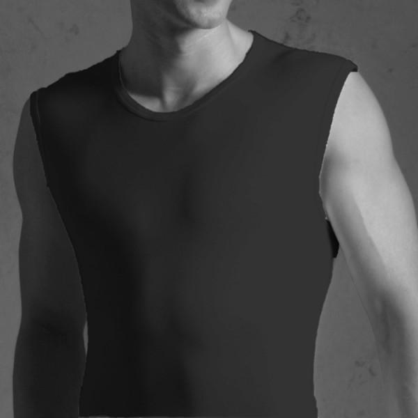 "Novila ""NATURAL COMFORT"" schwarzes Unterhemd"