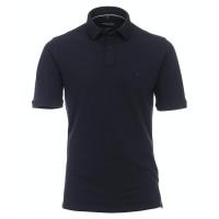 CASAMODA Poloshirt dunkelblau in klassischer Schnittform