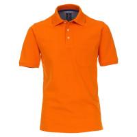 Redmond Poloshirt orange in klassischer Schnittform
