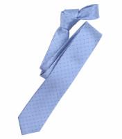 Venti Krawatte hellblau getupft