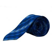 Pure Krawatte blau gestreift