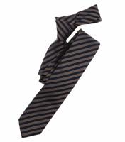 Venti Krawatte hellbraun gestreift