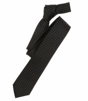 Venti Krawatte schwarz getupft