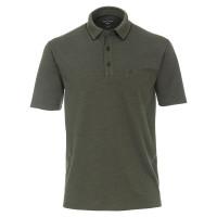 CASAMODA Poloshirt dunkelgrün in klassischer Schnittform