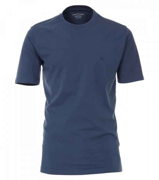 CASAMODA T-Shirt dunkelblau in klassischer Schnittform