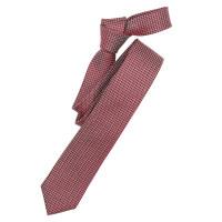 Venti Krawatte dunkelrot gemustert