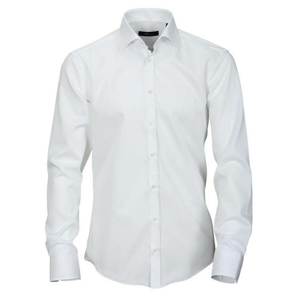 """Venti Hemd """"Twill"""" weiß mit Kent Kragen in moderner Schnittform"""
