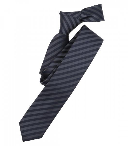 Venti Krawatte dunkelblau gestreift